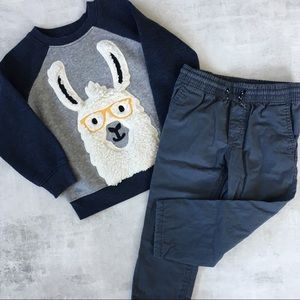 Old Navy and Carter's matching set for toddler boy